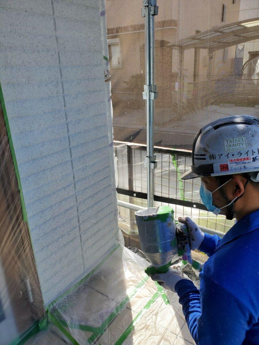外壁塗装工事の画像